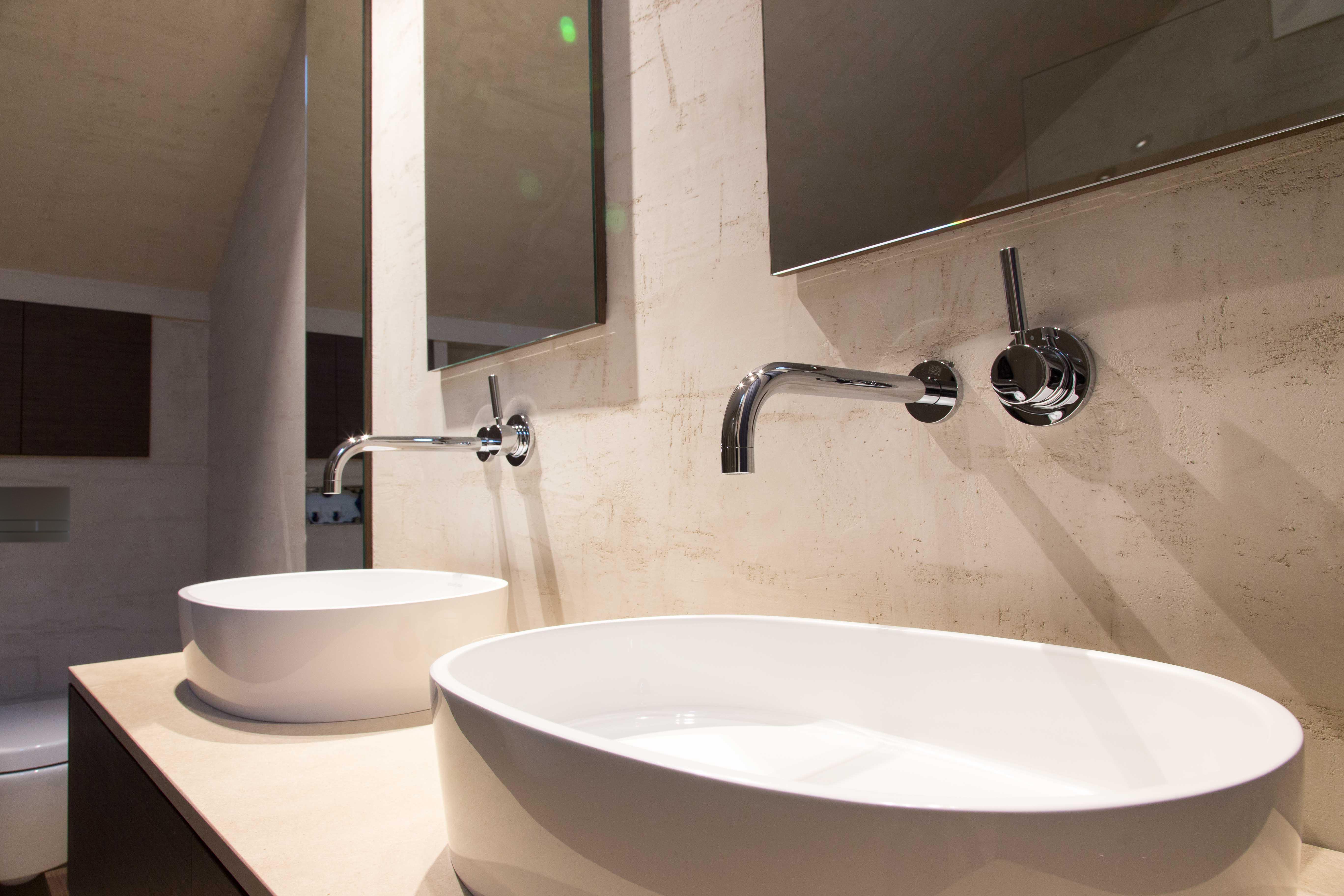 Penthouse, Loft in Mannheim - Waschbecken Nahaufnahme - Inneneinrichtung Heidelberg, Mannheim, Stuttgart - Gaffga Interieur Design. Planung und Ausführung - Lichtplanung - Möbel auf Maß.