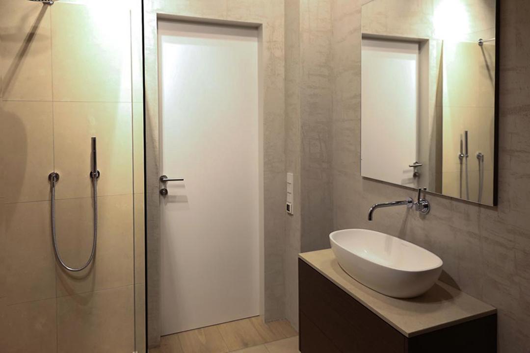 Penthouse, Loft in Mannheim - Bild vom Bad Inneneinrichtung Heidelberg, Mannheim, Stuttgart - Gaffga Interieur Design. Planung und Ausführung - Lichtplanung - Möbel auf Maß.