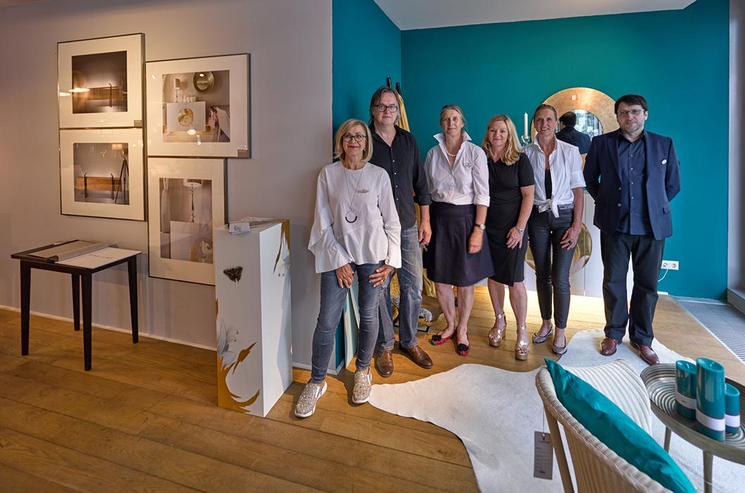Inneneinrichtung Heidelberg, Mannheim, Stuttgart - Gaffga Interieur Design - Event mit Lambert - Ulrike Gaffga mit Ute Hartmann