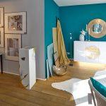 Interieur trifft Farbe und Design