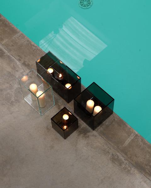 BMB Italy , Glasspezialist, Glasmoebel mit Kerzen, Inneneinrichtung & Raumgestaltung in Heidelberg und Mannheim, Gaffga Interieur Design