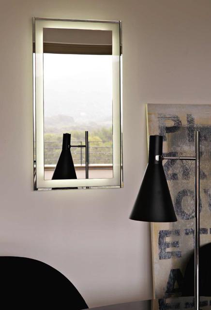 BMB Italy , Glasspezialist, große Spiegel mit Glasrahmen, Inneneinrichtung & Raumgestaltung in Heidelberg und Mannheim, Gaffga Interieur Design, Spiegel mit direkter und indirekter Beleuchtung. Kombinationsmöglichkeit mit umfassendem Lampensortiment