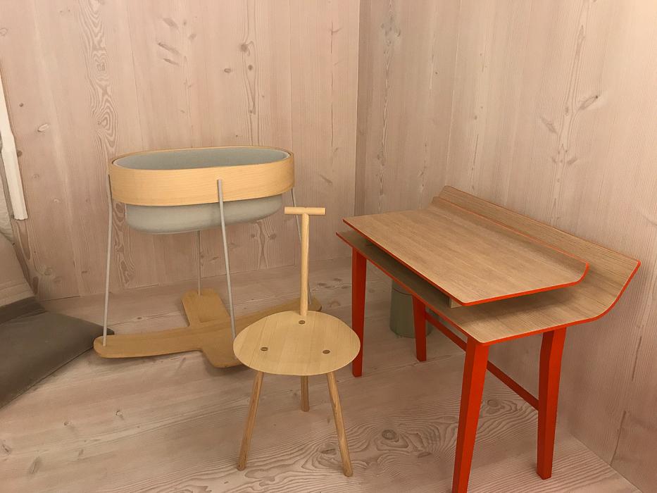 Gaffga Interieur Design - Besuch auf der Möbelmesse Köln 2018 - Holzmöbel