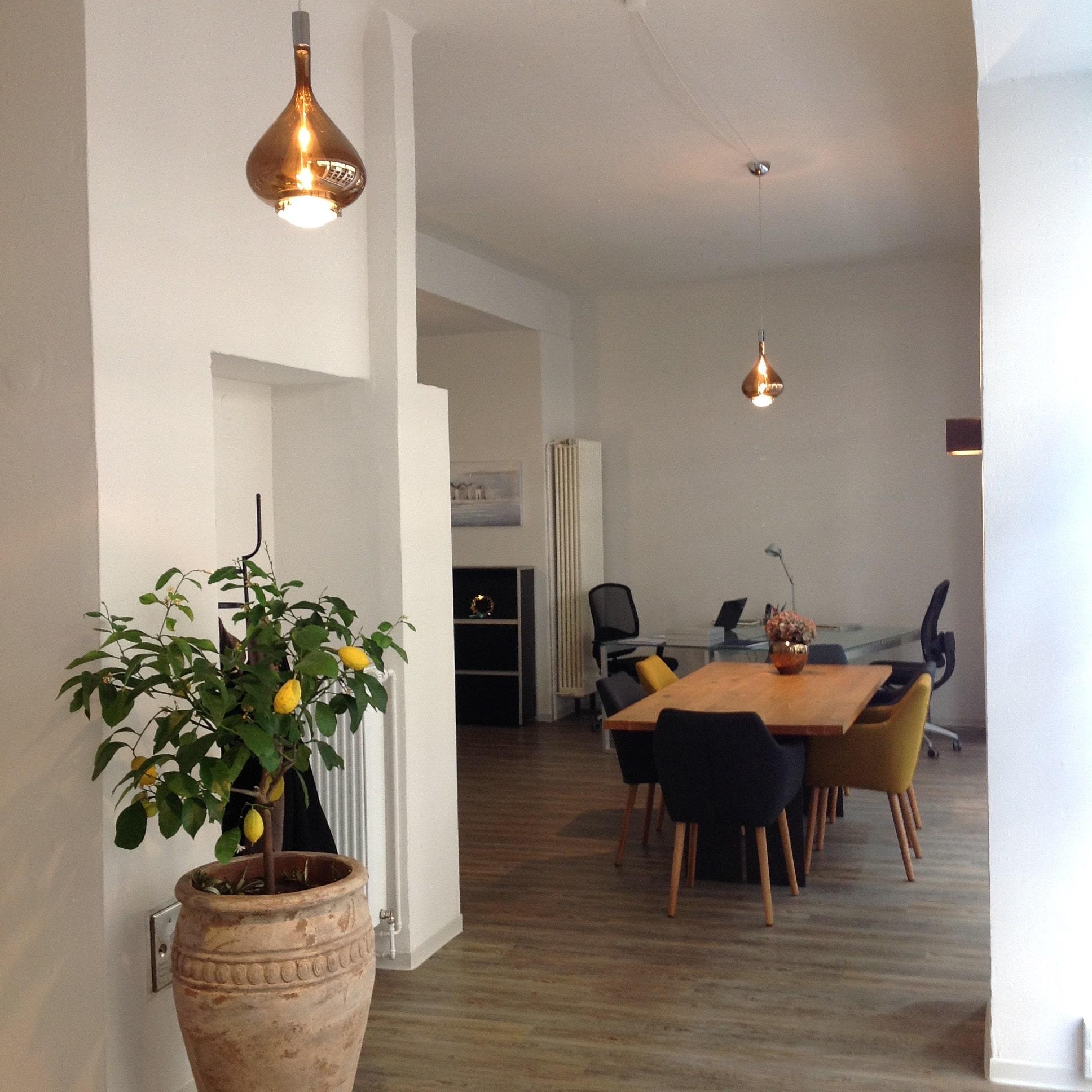 Beleuchtung - Büroeinneneinrichtung Mannheim, Heidelberg - Gaffga Interieur Design. Planung und Ausführung - Lichtplanung - Möbel auf Maß.