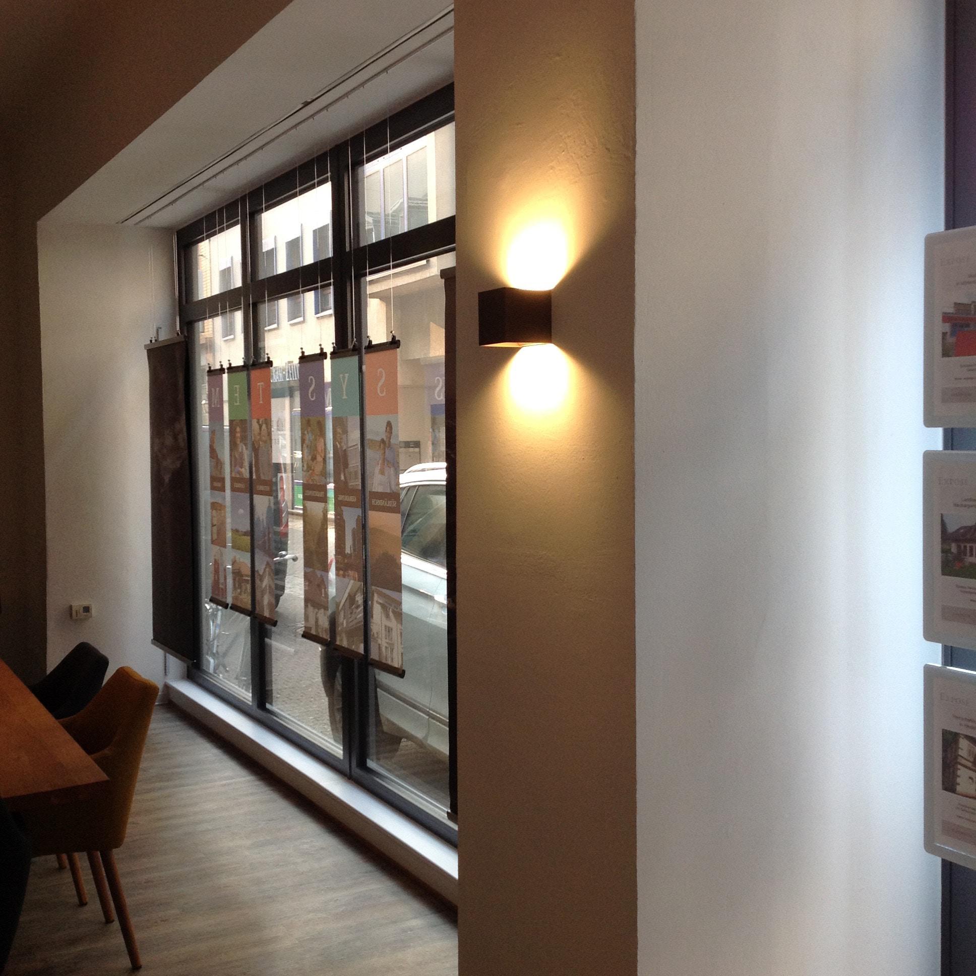 Wandbeleuchtung - Büroeinneneinrichtung Mannheim, Heidelberg - Gaffga Interieur Design. Planung und Ausführung - Lichtplanung - Möbel auf Maß.